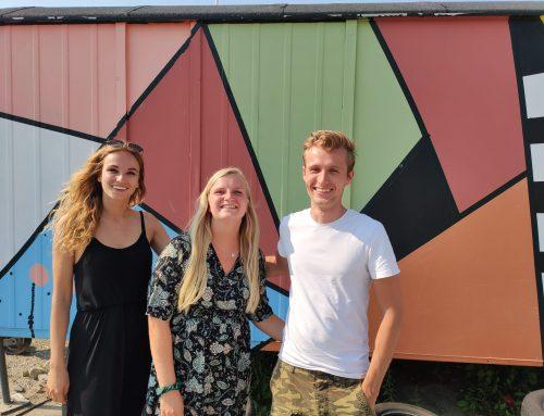 Eerste week van Sven, Sara en Serra